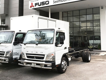 New Mitsubishi Fuso FE85PE (7500kg)