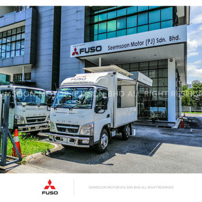 Mitsubishi Fuso FE71PB Food truck, Event truck, Mobile truck 4800kg