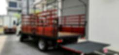 Fuso FE85PE wooden cargo