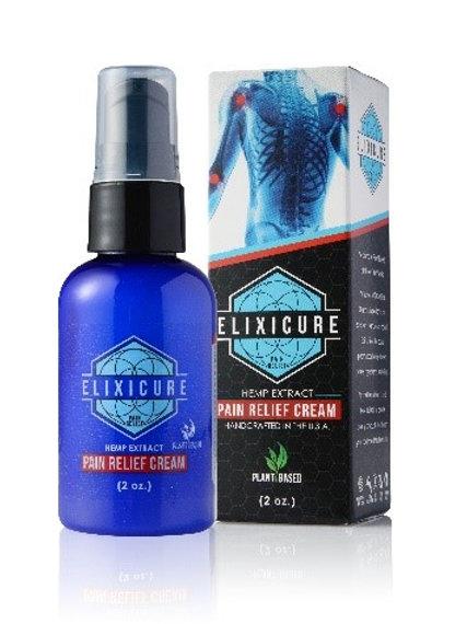 Elixicure 2oz. Pain Relief Pump Case 15 count