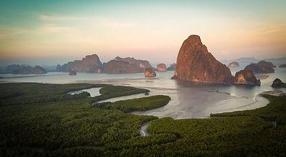 Samet nangshe viewpoint phangnga