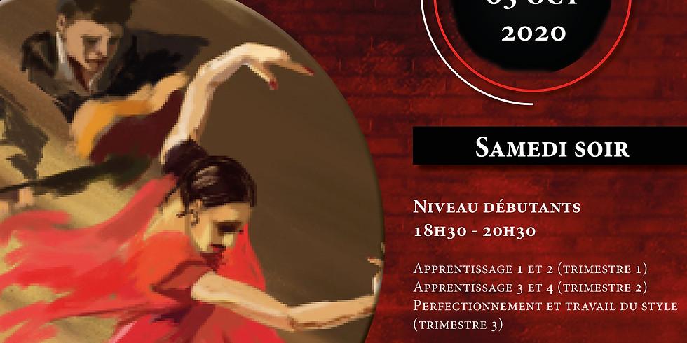 Stages Sévillanes Débutants - Nov