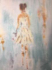 Acrylic on Canvas called Amelia 36 x 24