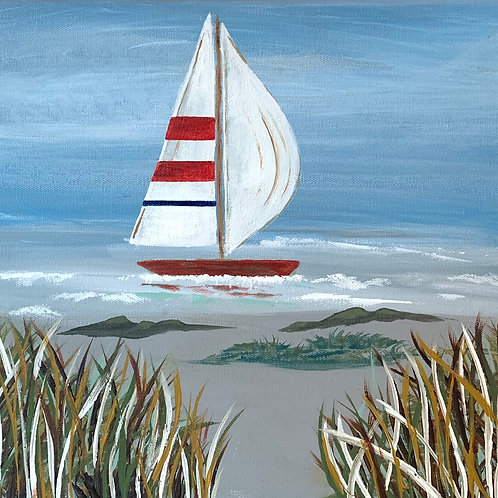 Beach Series Sailboat