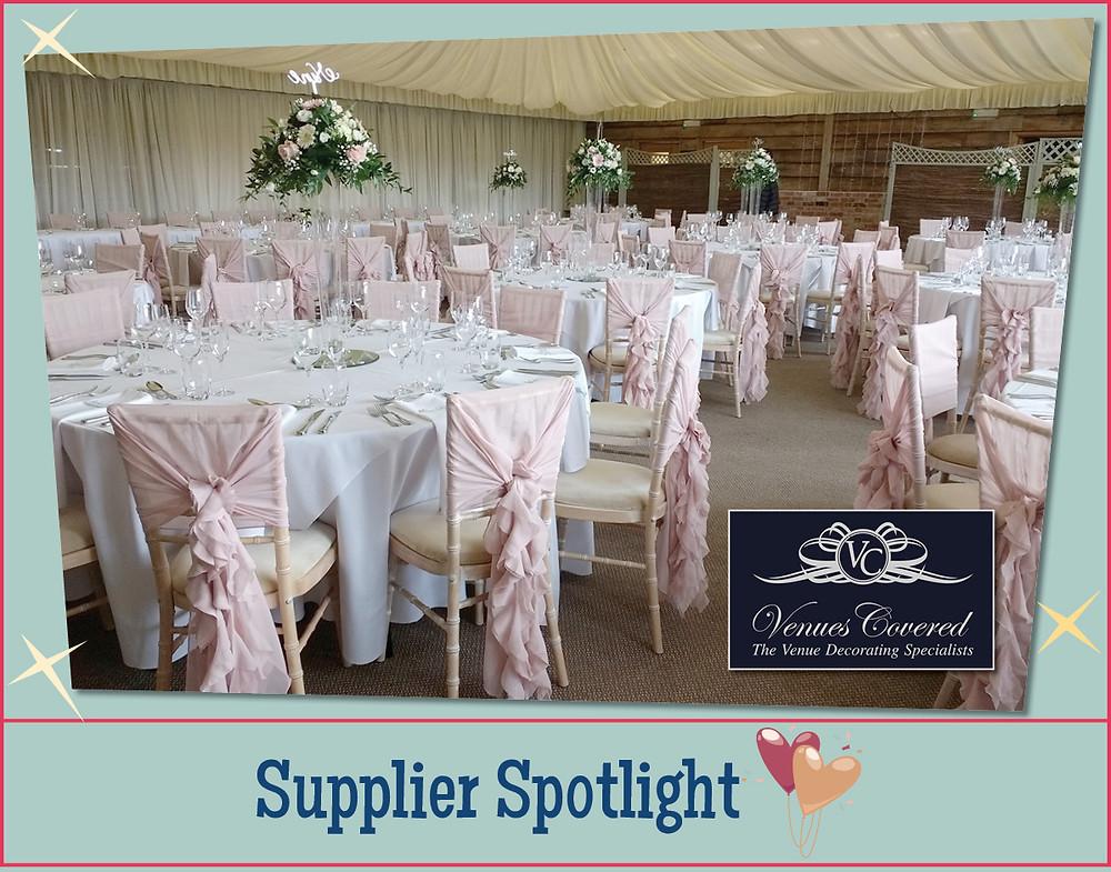 Venues Covered wedding design and decoration