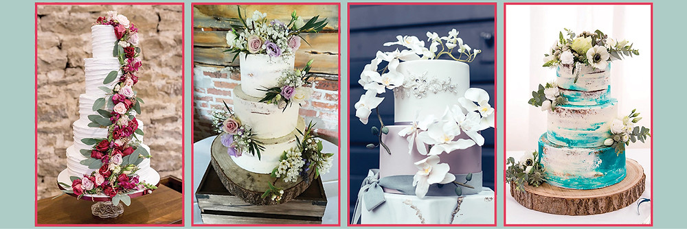 Wedding Cakes by Mrs F