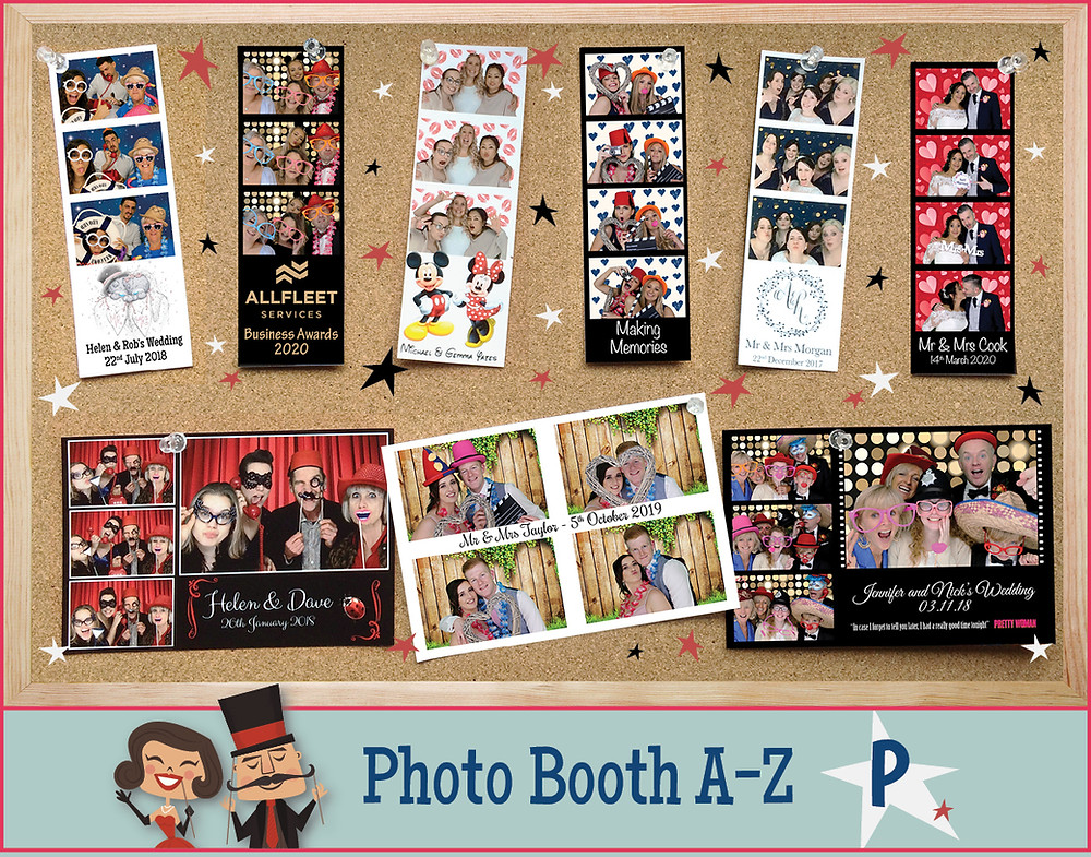 Photo Booth personalised prints