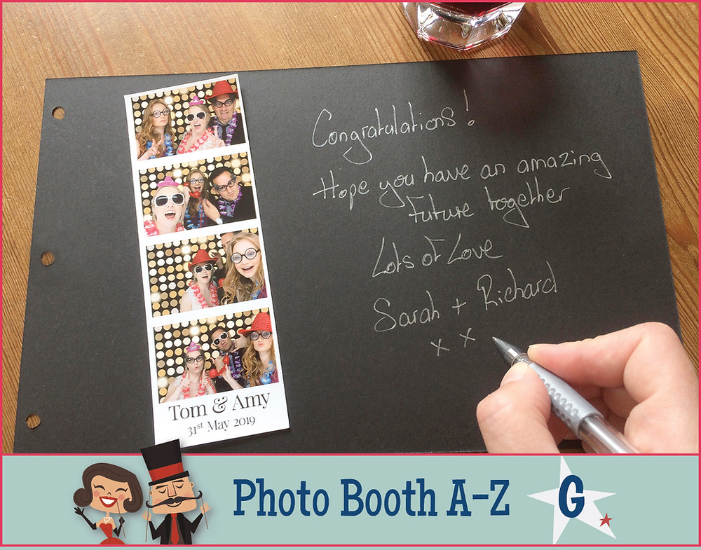 The Two Bonnys Photo Booth Guest Book