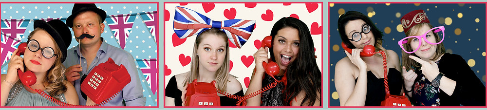 The Two Bonnys photo booth enquiries