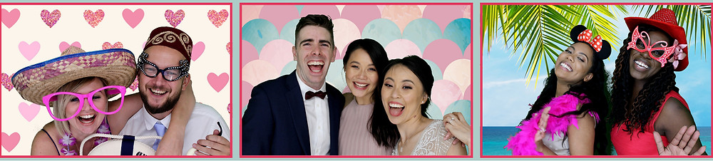 The Two Bonnys Photo Booth Laughter