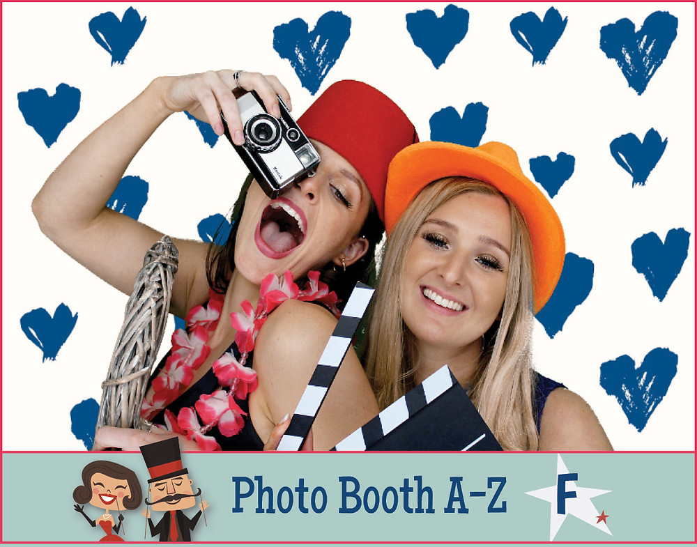 The Two Bonnys photo booth fun