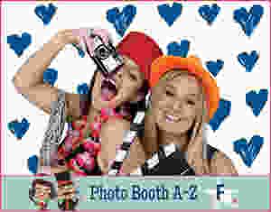 The Two Bonnys photo booth fun