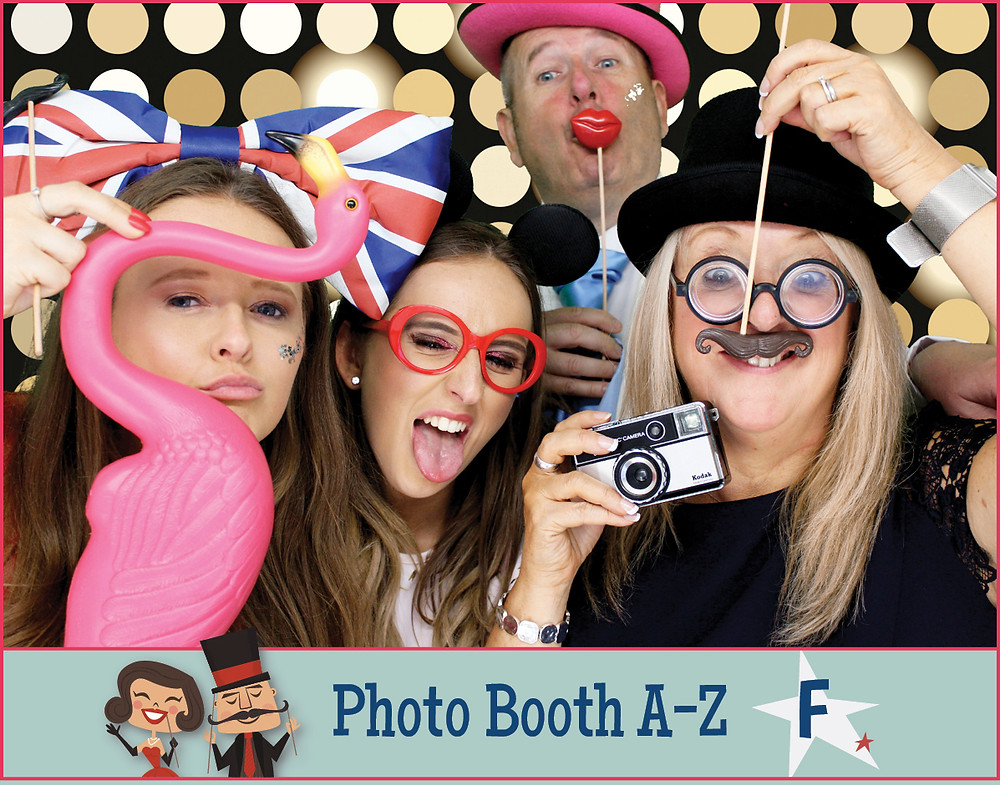 The Two Bonnys photo booth family