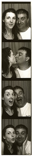 The Two Bonnys photo booth hire