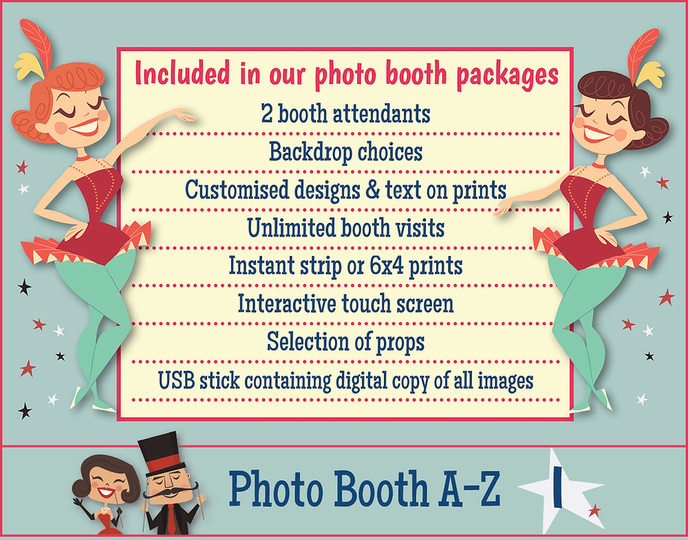 The Two Bonnys Photo Booth Prices