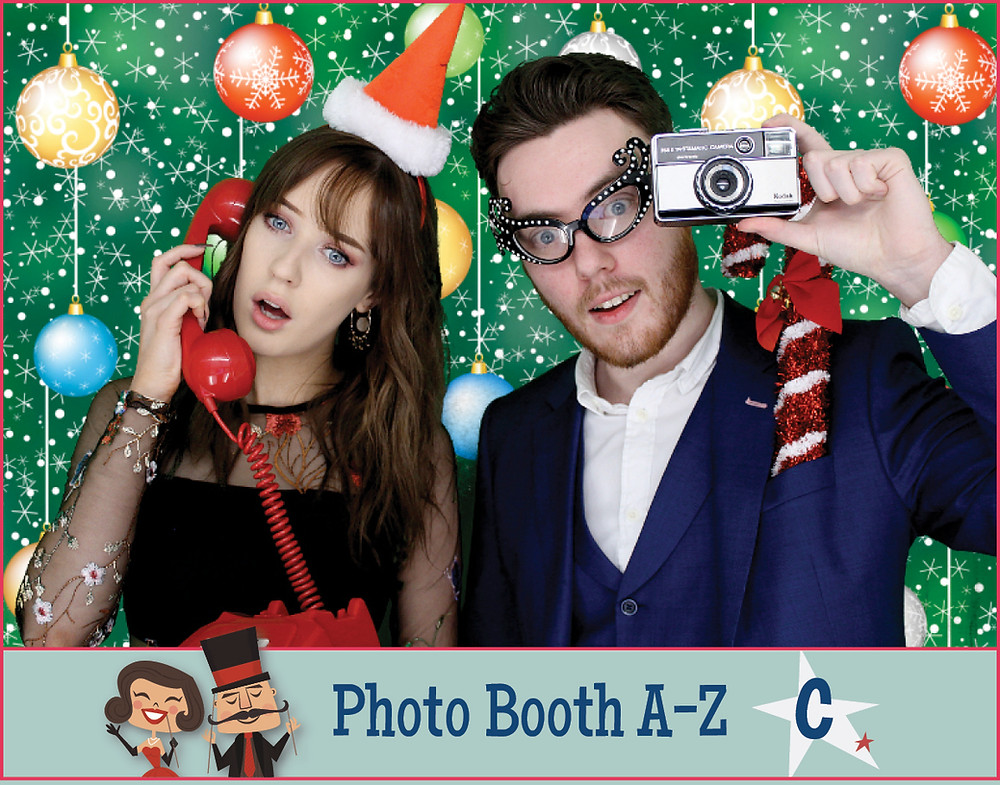 Christmas corporate photo booth