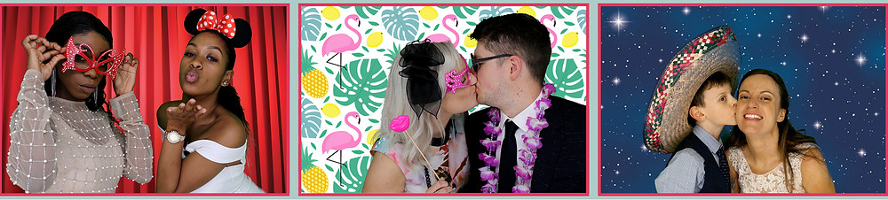 The Two Bonnys Photo Booth Kisses