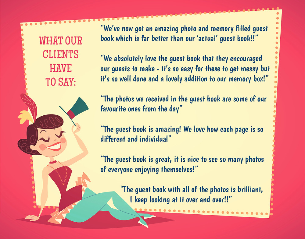 Photo Booth Guest Book reviews
