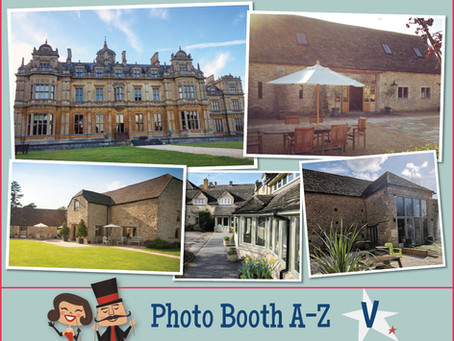 V is for ... Venues