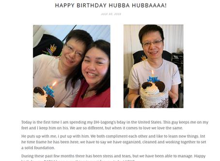 Hubba Hubba Hubby Bday Re-post