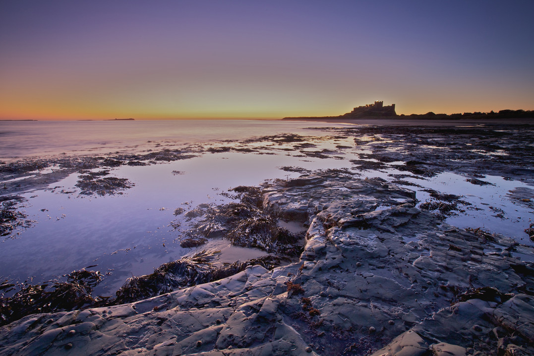 Bamburgh Autumn Dawn