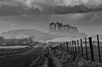 The road to Bamburgh