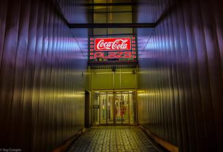 Coca Cola entrance