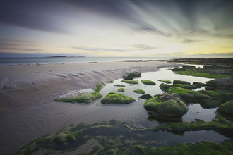 Dawn over Seahouses Beach