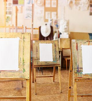 easles de peinture
