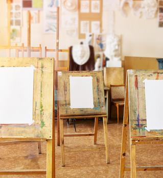 paint easles