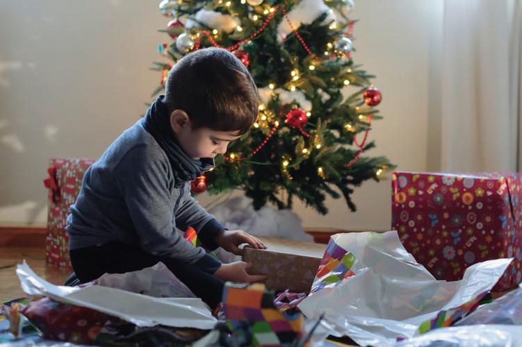 Rozpakowywanie prezentów