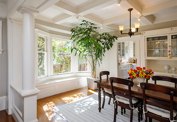 Dining Room Inspiration Coffered Ceiling