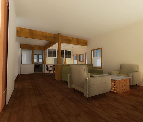 Sketchup model wit Vray rendering