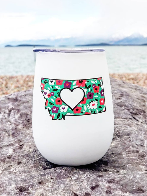 Spring Montana Wine Glass
