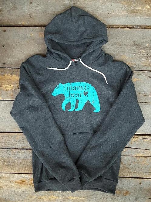 Grey Mama Bear Sweatshirt