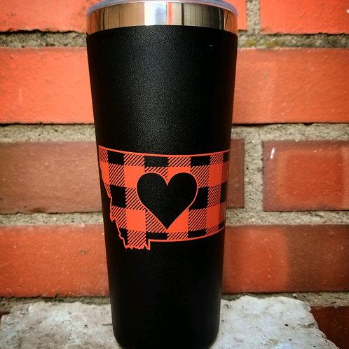 Plaid MT Coffee Cup