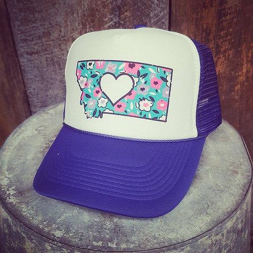 Love Montana Floral Hats
