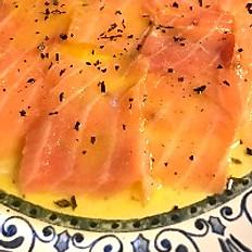 Gravilax de salmão