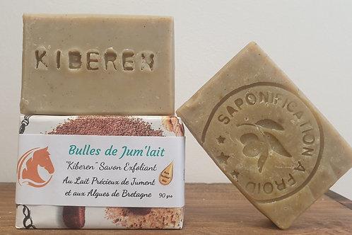 """""""Kiberen"""" savon exfoliant aux algues de Bretagne"""