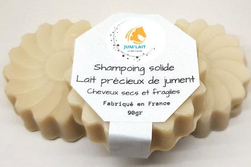 Click&collect  Shampoing solide au lait de jument.
