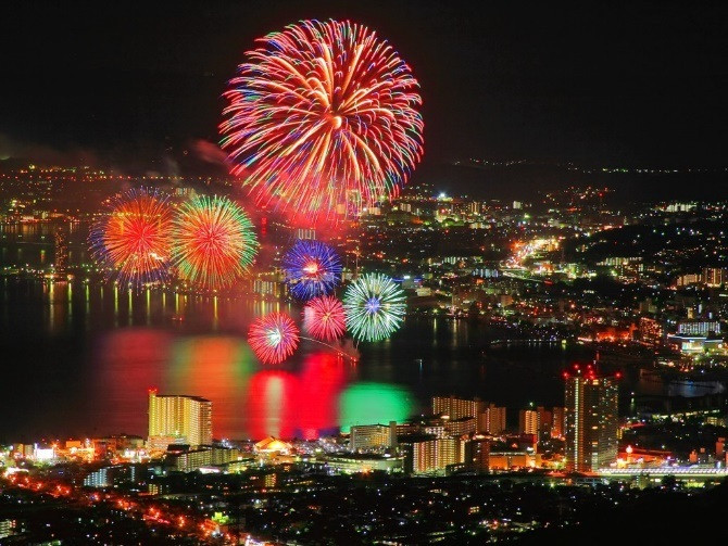 Sumida River Fire Works