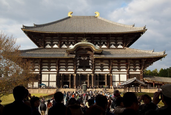 Todaiji Temple(The world laegest  Wooden architecture).jpg