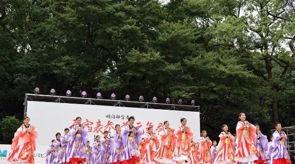 Meiji Jingu  Autumn Festival