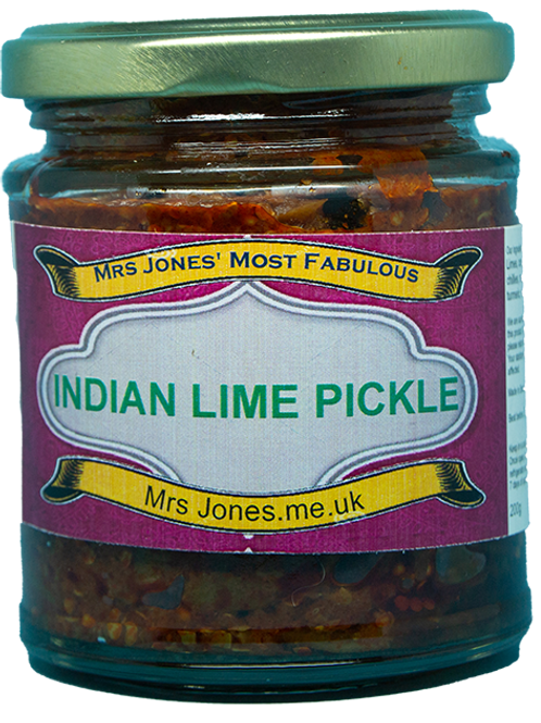 Indian Lime Pickle (200g)
