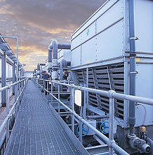 Cooling tower chlorination