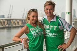 Michelle Heaton and Matt Evers