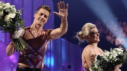 Suzanne Shaw and Matt Evers
