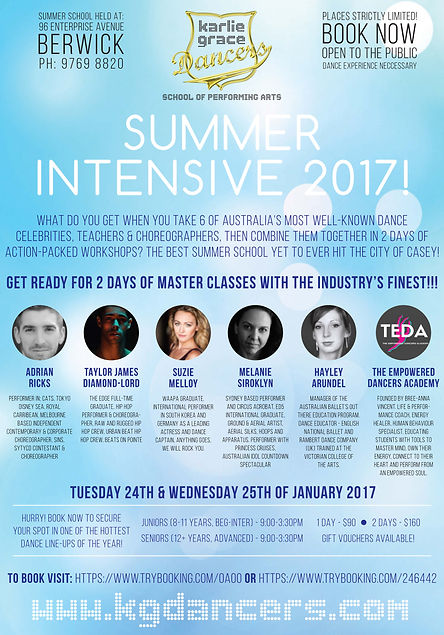 summer intensive summer school program