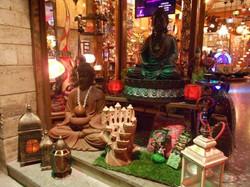 Fuentes de agua Buda