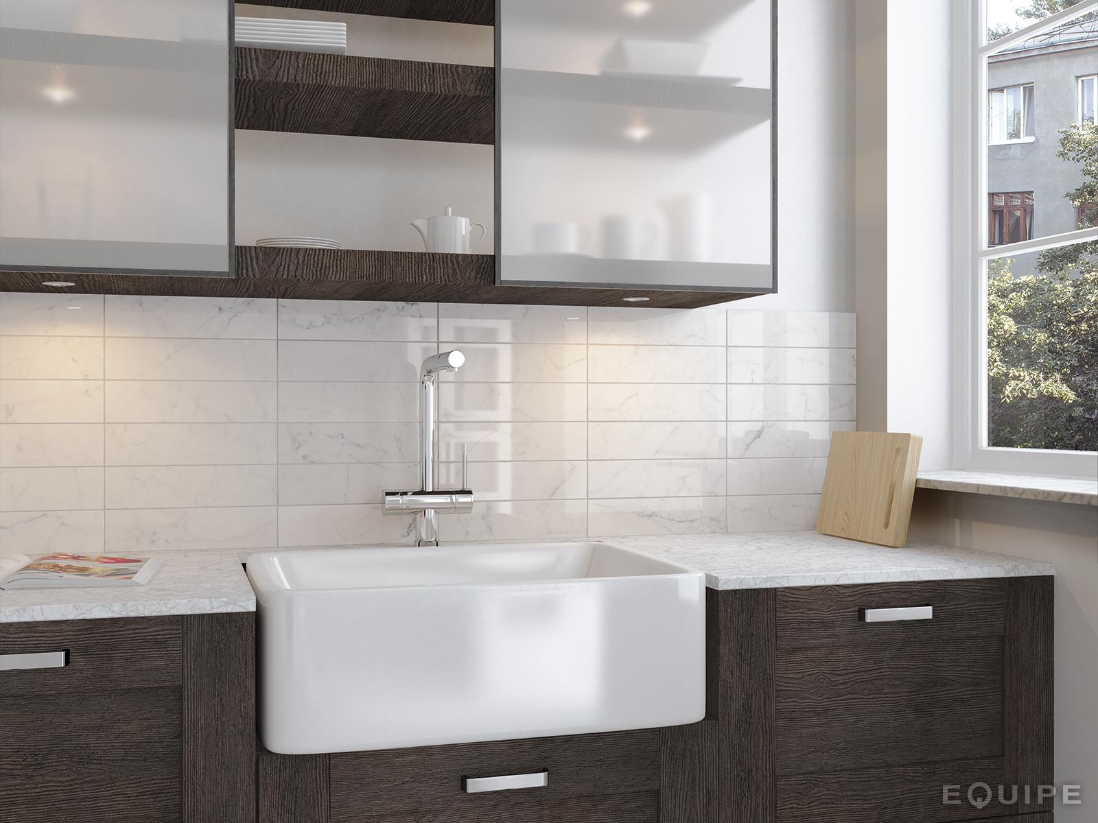 Carrara7,5x30 brillo kitchen_det